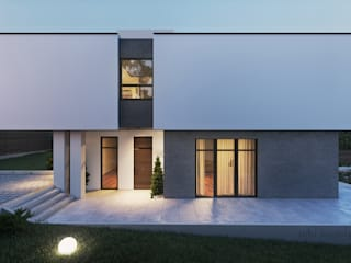 Tobi Architects Minimalist house