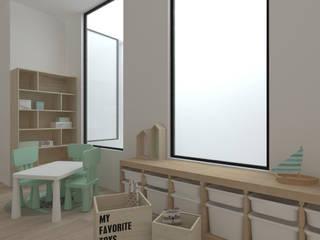 Vivienda AM Dormitorios infantiles de estilo minimalista de atelier512 Minimalista