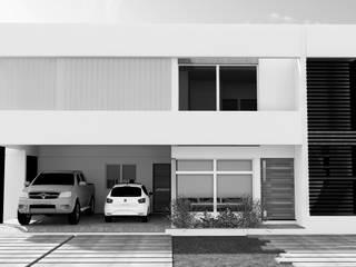CASA D|V Casas modernas: Ideas, imágenes y decoración de áwaras arquitectos Moderno