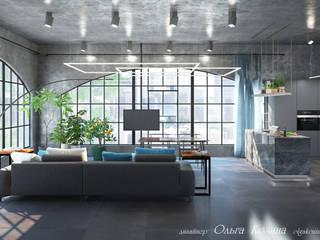 Лофт пространство - кухня с техникой Гаренье Кухня в стиле лофт от Ольга Козина - дизайнер интерьера Лофт