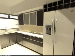 Aida tropeano& Asociados Kitchen Wood-Plastic Composite Beige