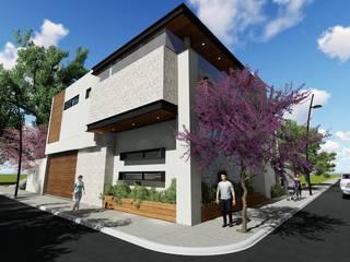 Residencia Los Sauces: Casas de estilo  por TEKTÓNIKA arquitectura + diseño