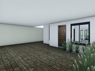 Remodelacion ampliacion de vivienda de interés social:  de estilo  por Arquitectura + Diseño Proyectual