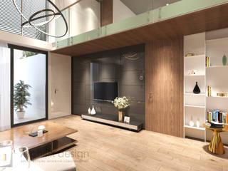 Cải tạo căn hộ Duplex -Lam Sơn - Tân Bình bởi Công Ty TNHH Archifix Design Hiện đại