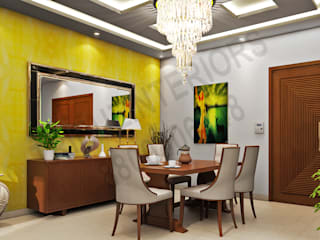 modern  by Tribuz Interiors Pvt. Ltd., Modern