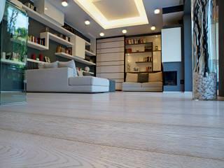 Soloparquet Srl Modern offices & stores Wood
