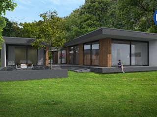 ECO architecten의 현대 , 모던