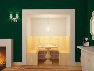 Comedores de estilo ecléctico por Arch. Francesco Antoniazza - Dimore di Lago