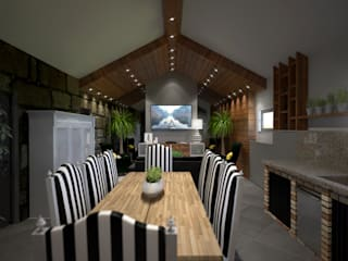 Living room by BENEDITO MARTINS, Rustic