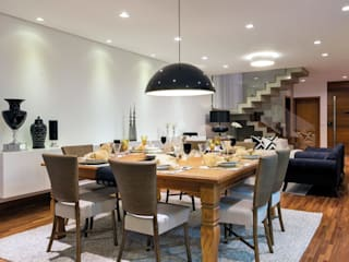 Dib Studio Arquitetura e Interiores ห้องทานข้าว