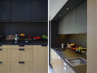 Verbouwing jaren 70 woning Moderne keukens van ARCHiD Modern