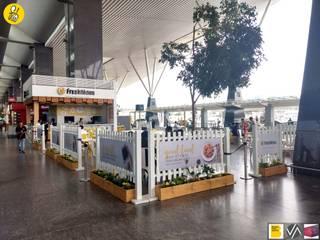 FreshMenu Restaurant in Bangalore International Airport:  Airports by Renovatio Interio