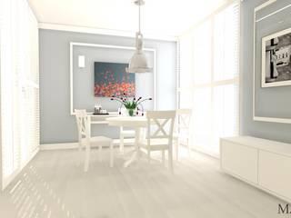 Petnhouse Nowoczesna jadalnia od MJ-Atelier Nowoczesny