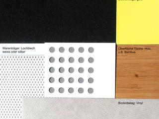 Farb- und Materialvorschlag:   von Gross Unternehmensgestaltung Innenarchitektur