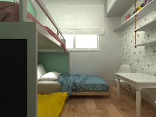 Dormitorios infantiles de estilo  por Fragmento Arquitetura