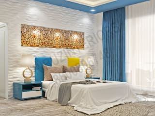 Bedroom by Tribuz Interiors Pvt. Ltd., Modern