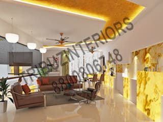 Living room by Tribuz Interiors Pvt. Ltd., Modern