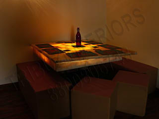 Dining room by Tribuz Interiors Pvt. Ltd., Modern