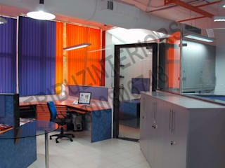 Office buildings by Tribuz Interiors Pvt. Ltd., Modern