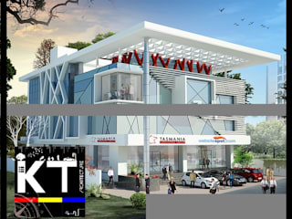 Commercials by ARCHITECTS KT INDIA GROUP Modern