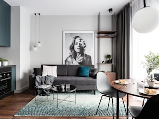 Salas de estilo  por Raca Architekci