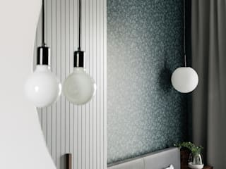 Modern style bedroom by Raca Architekci Modern MDF