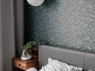 Modern style bedroom by Raca Architekci Modern Chipboard