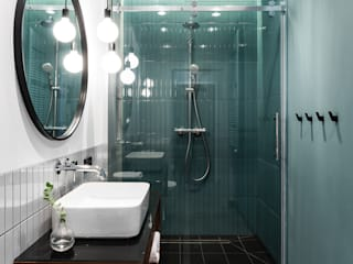 Raca Architekci Modern Bathroom Ceramic Green