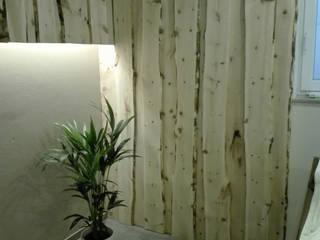 Zirbenholzverkleidung in einem Wellnesskeller:   von Möbelschreinerei Jürgen Burkhardt