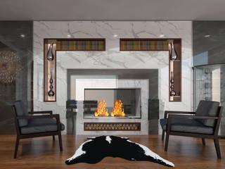 AKSESUAR DESIGN Living roomFireplaces & accessories Ceramic
