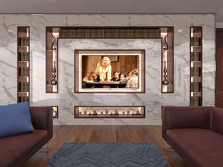 AKSESUAR DESIGN Living roomTV stands & cabinets Porcelain