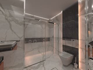 AKSESUAR DESIGN BathroomBathtubs & showers Kaca
