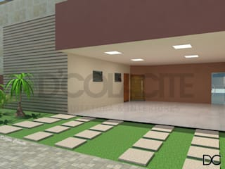 Projeto Residência Unifamiliar: Garagens duplas  por D'Colacite - Arquitetura e Interiores,Moderno