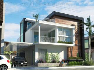 Projeto de Estudo de Render: Casas familiares  por D'Colacite - Arquitetura e Interiores,Moderno