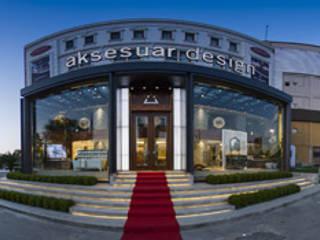AKSESUAR DESIGN Office spaces & stores Ceramic