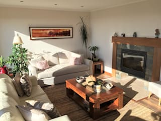 Living room by Rocamadera Spa, Colonial