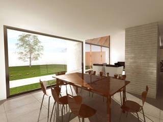 Comedor: Comedores de estilo  por artefacto arquitectura