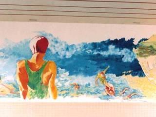 Fresque murale tous supports Centres commerciaux classiques par Filée Dominique Classique