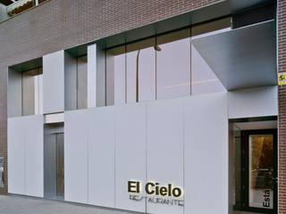 Restaurante El Cielo Gastronomía de estilo minimalista de CANTÓ ARQUITECTOS Minimalista