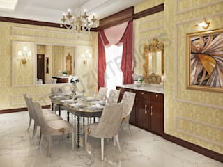 Dining room by Tribuz Interiors Pvt. Ltd., Classic