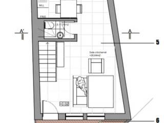planta piso 0 - moradia 1:   por Teresa Ledo, arquiteta