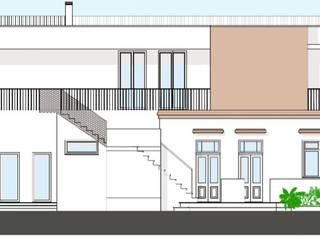 Reabilitaçao e ampliaçao de edificio  - Grandola:   por Teresa Ledo, arquiteta