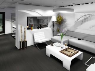 Sala de estar: Salas de estilo moderno por gciEntorno