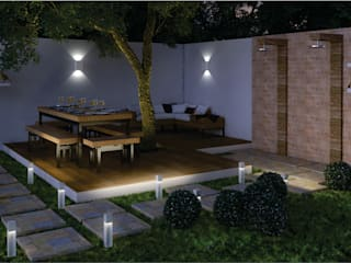 Áreas de Lazer: Jardins zen  por D'Ateliê,Eclético