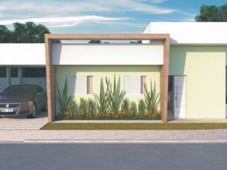 Residências de 2 dorm.: Casas  por D'Ateliê,Moderno