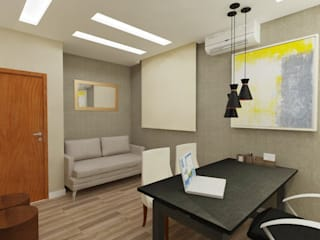 Modern Study Room and Home Office by ITOARQUITETURA Modern