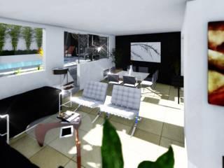 Sala y comedor: Salas de estilo moderno por gciEntorno