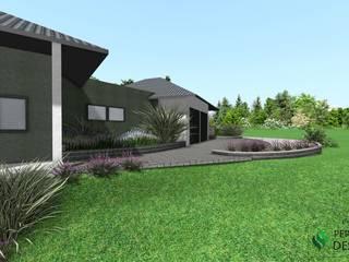 Projekt terenu zieleni od Design We Are 3D Klasyczny