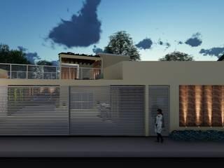 Residência CF por Dimensione Arquitetura Moderno