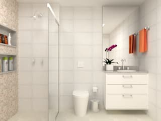 Bathroom by Ana Carolina Moreira Arquitetura, Classic